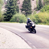 Some Ninja rider near Lake City on the 'Silver Thread' CO 149