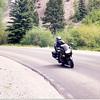 Some Ninja rider near Lake City on the 'Silver Thread' CO 149
