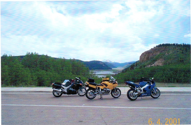 2001 - near Slumgullion Pass on CO 149 south of Gunnision. This is one of the most scenic roads in Colorado.