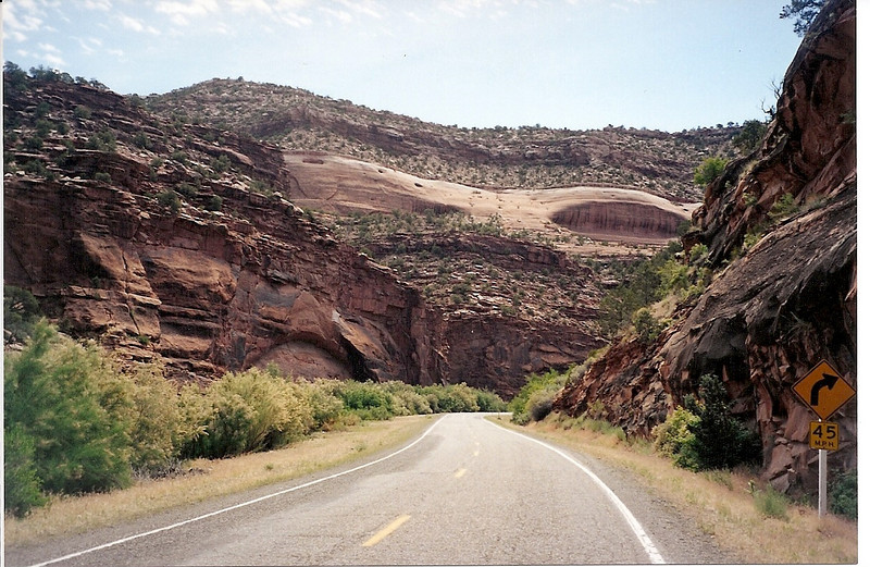 Another of Dolores Canyon on CO 141