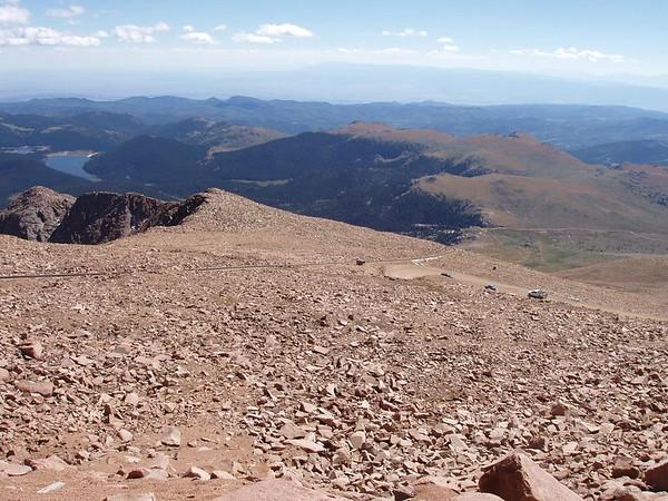 Colorado 2004, Pike's Peak Trip