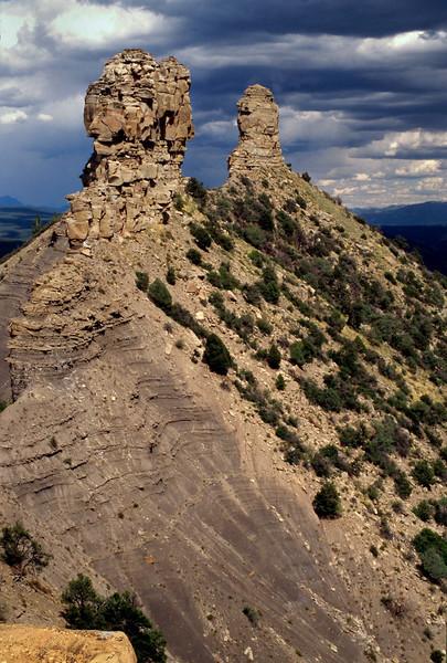 Chimney Rock Archaeology Area, Colorado.