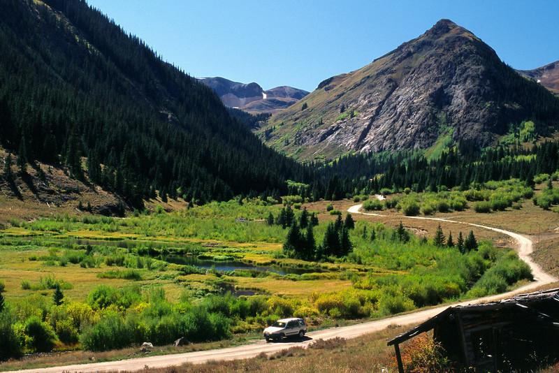 Alpine Loop Jeep Trail, near Silverton, Colorado.