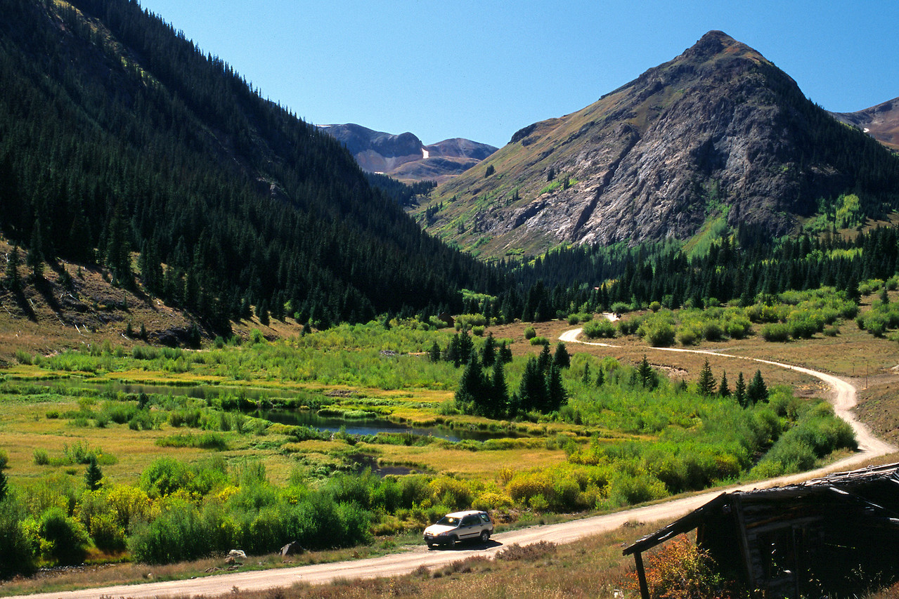 Alpine Loop Jeep Trail, near Silverton, Colorado.