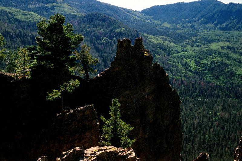 Wolf Creek Pass, Colorado.