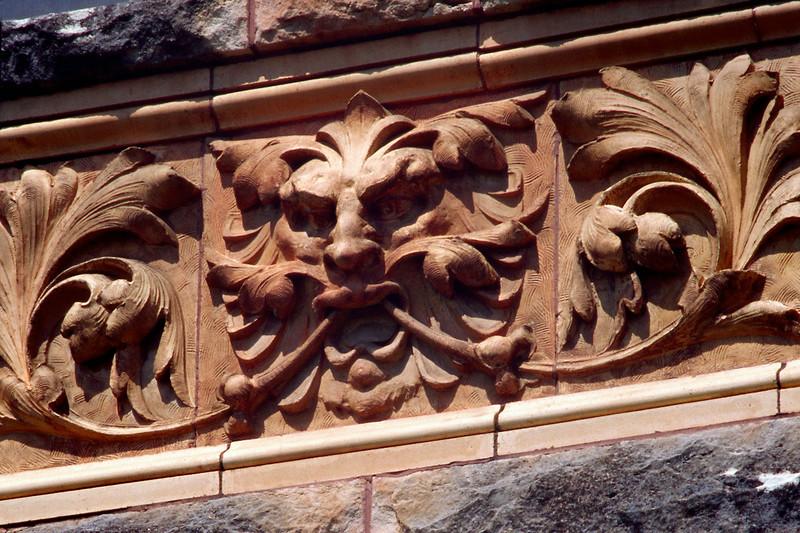 Detail, Ireland Hall, Arkansas City, Kansas-Sept. 2005