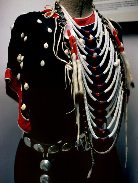 Native dress. San Luis County Museum, Alamosa, Colorado.