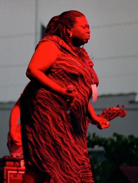 Diunna Greenleaf & Blue Mercy, Greater Ozark Blues Festival, Springfield, MO - September 2005