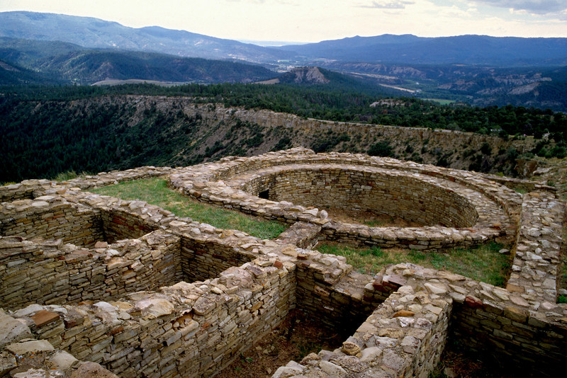 Chimney Rock Archaeology Area, Colorado.