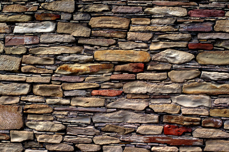 Wall detail; Chimney Rock Archaeology Area, Colorado.