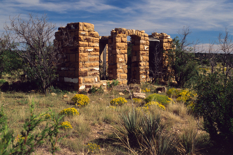 Adobe ruins, Colorado