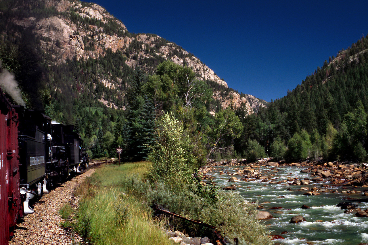 Durango & Silverton Narrow Guage Steam Train