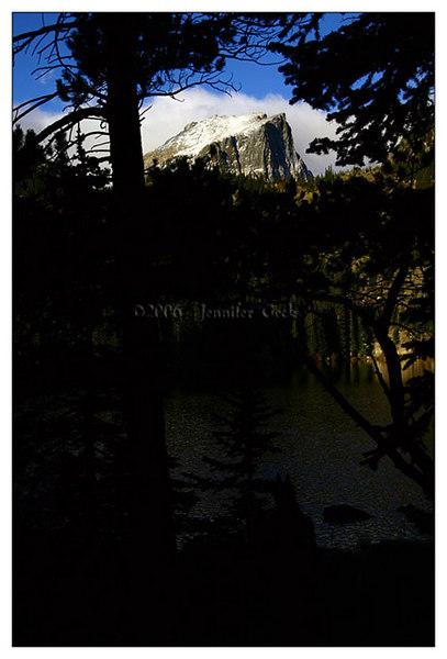 Hallett's Peak from Bear Lake