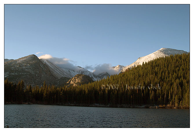 View from Bear Lake
