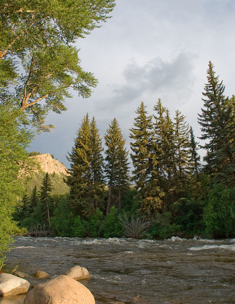 Eagle River near Avon, Colorado