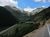 After leaving Silverton, we climbed; gentle at first, then up some steeper switchbacks.
