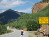 "US550 between Silverton and Ouray is known as the ""Million Dollar Highway"" because it was so expensive to build it through the mountains."