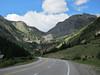 Starting up towards Red Mountain Pass.