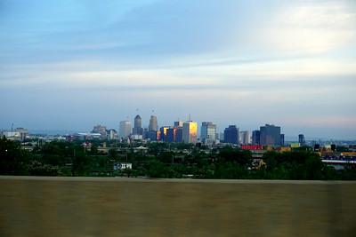 Newark Skyline from the NJ Turnpike