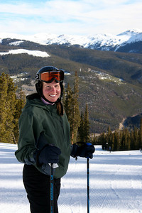 Carrie Skiing!