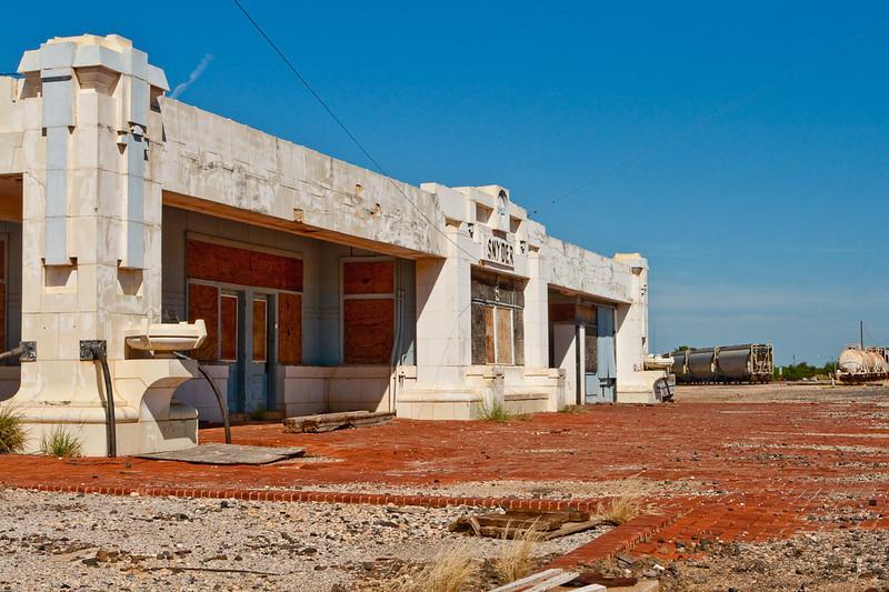 Old Synder train depot
