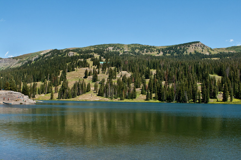 Lake Irwin, off of the Kebler Pass Road, near Crested Butte