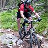 Ben descends the Colorado Trail from Georgia Pass