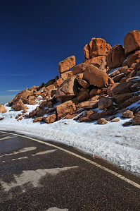 On the road to Pikes Peak