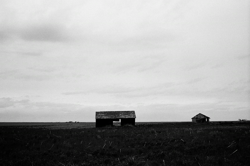 Abandoned barn en route to Pawnee Buttes