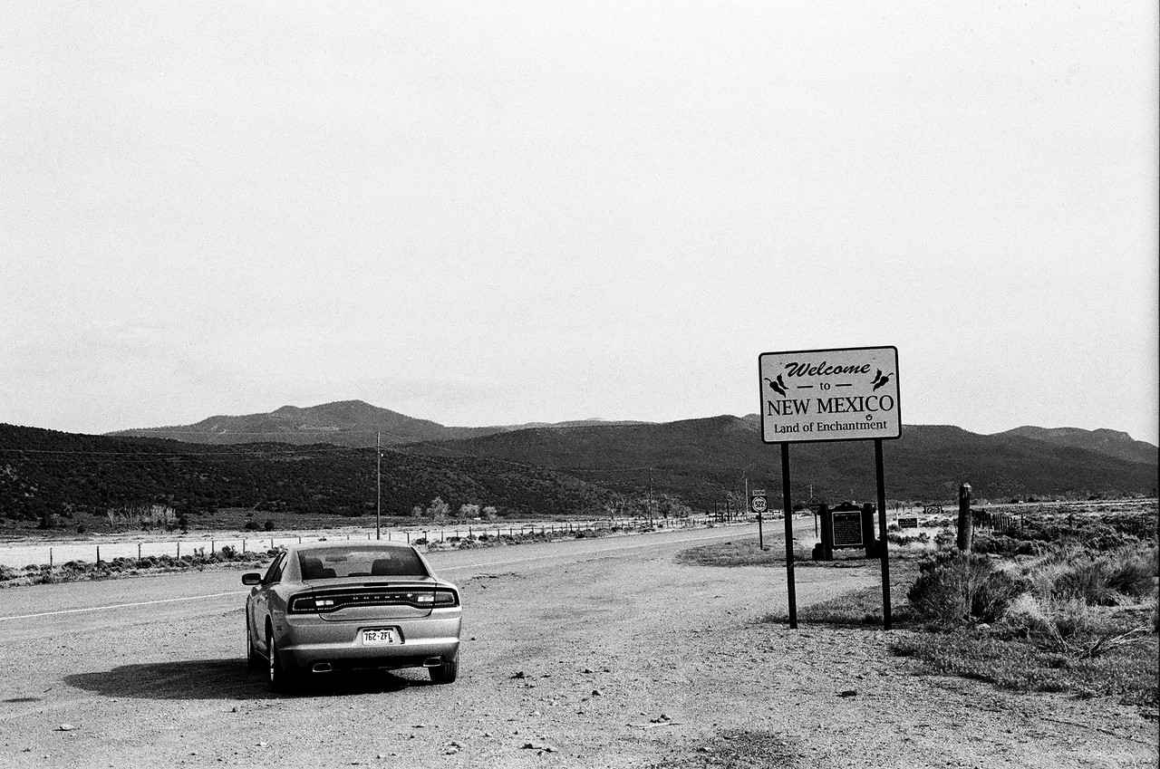 Colorado/New Mexico border