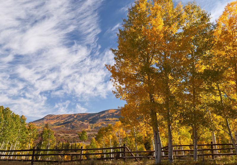 Aspen sky Colorado