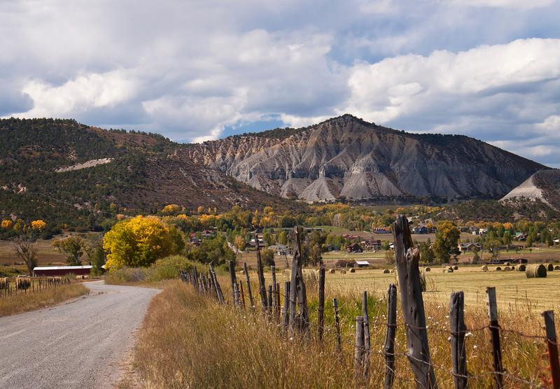 Road to Ouray, Colorado
