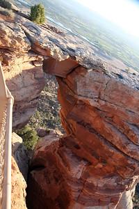 Down Through Window Rock