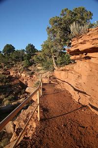 Trail to Window Rock