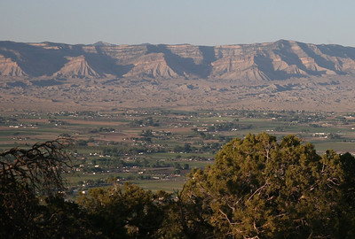 Fruita and Grand Mesa from Saddlehorn