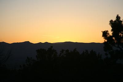 Grand Mesa at Sunrise