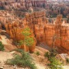 Bryce Canyon, Sunrise Point looking into canyon