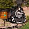Durango & Silverton locomotive #486