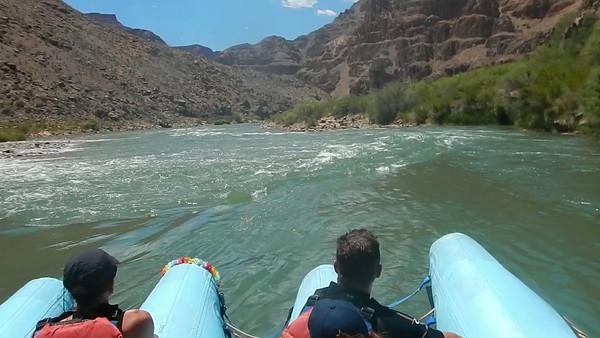 Colorado River Rafting VIdeo