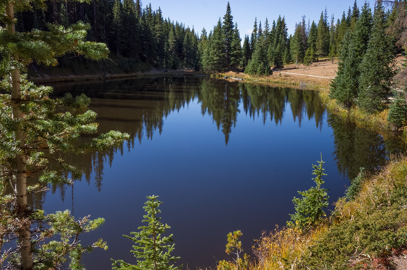 Lake Irene, Trail Ridge Road, Rocky Mountain National Park, Colorado.
