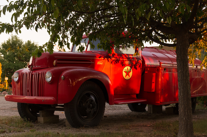 Red Texico truck, Heritage Museum, Limon Colorado.