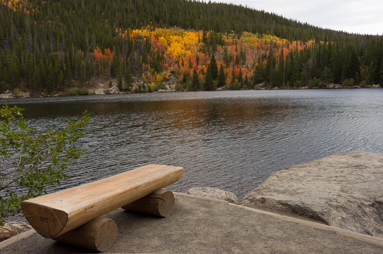 Bear Lake, Rocky Mountain National Park, Colorado.