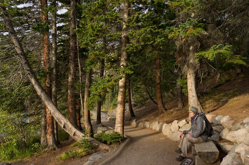 Gary, Bear Lake trail, Rocky Mountain National Park, Colorado.