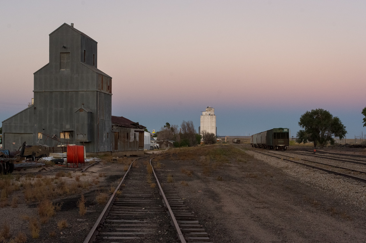 Rail yard; Heritage Museum, Limon Colorado.