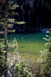Stunning Green Lake