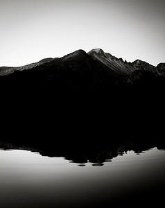 First light, Rocky Mountain National Park