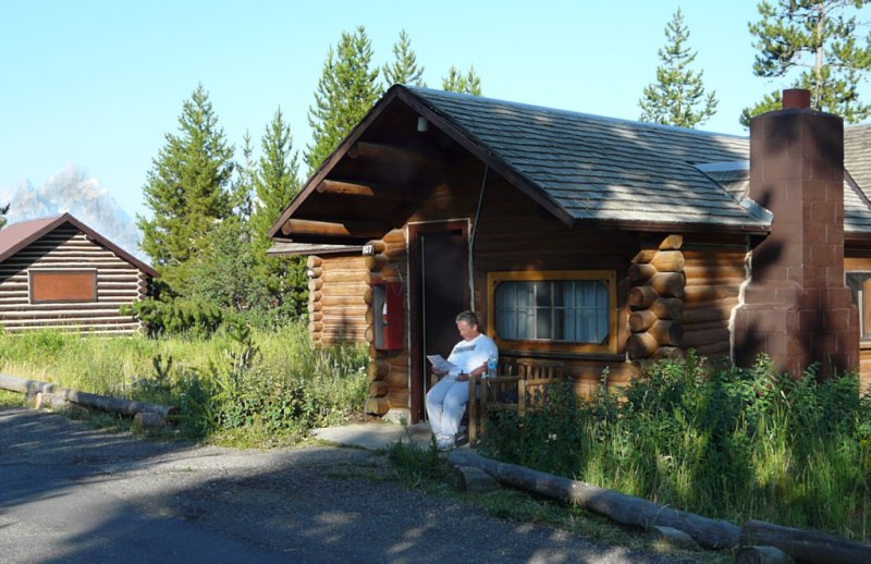 Our Cabin at Signal Mountain Lodge