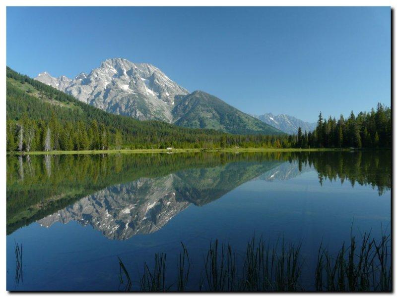 Mt. Moran from Jenny Lake