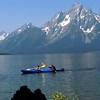 Kayakers on Jackson Lake