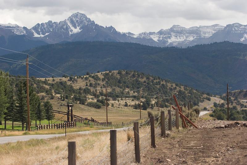 Driving to Durango